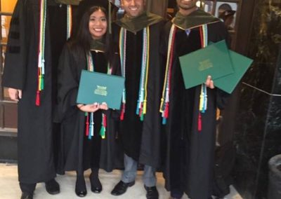 FAWN Wayne State University Pharmacy grads as They wear a red honor cord on their graduation in recognition of their FAWN commitment as formally recognized by the university