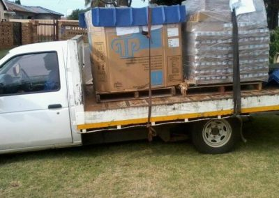 Pre World Medical Relief Shipment Arriving in South Africa